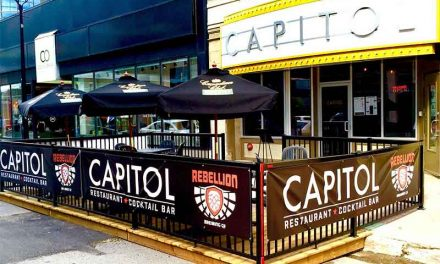 THE CAPITOL'S PATIO NOW OPEN