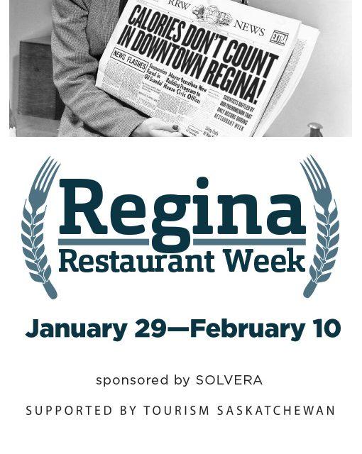 REGINA RESTAURANT WEEK 2018! Restaurants/Menus