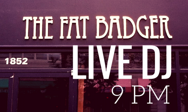 THE FAT BADGER: Live Music!