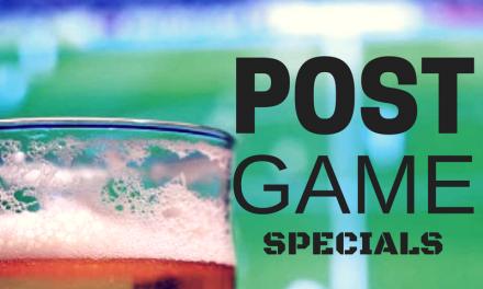 BEER BROS: Post-Game Specials