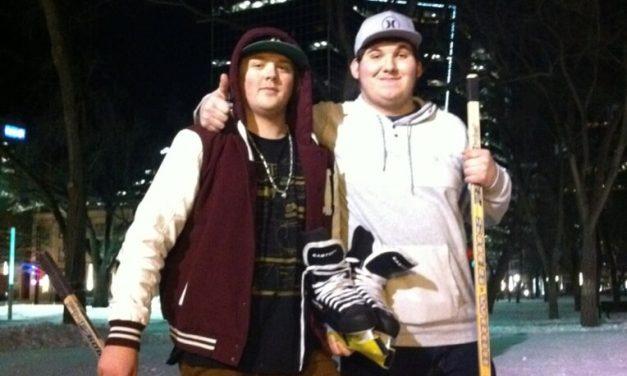 RINK STORIES: Daniel Parker and Jesse Ziegler