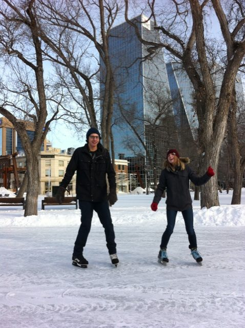RINK STORIES: Megan & Mark