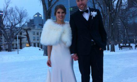 RINK STORIES: Newlyweds Scott & Megan