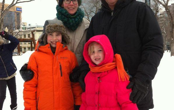 RINK STORIES: Kim, David, Andrew & Natalie