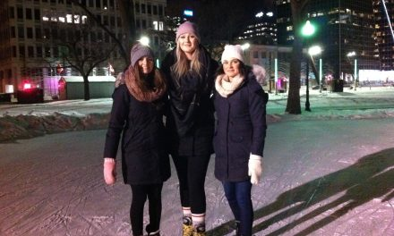 RINK STORIES: Paige, Kassia & Renee