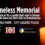 HOMELESS MEMORIAL: JANUARY 31, 6:00–7:00PM