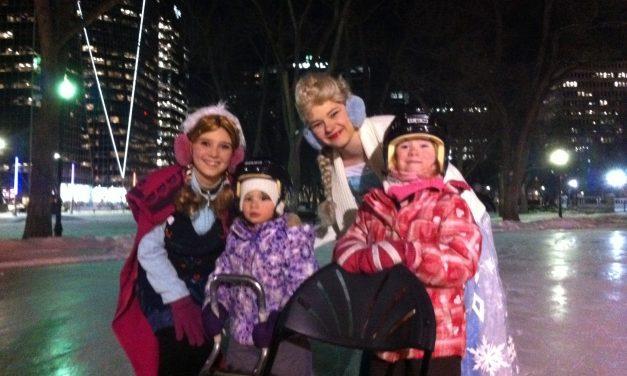 RINK STORIES: Anna & Elsa