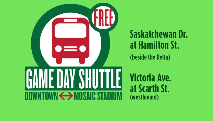 DOWNTOWN/MOSAIC STADIUM SHUTTLE