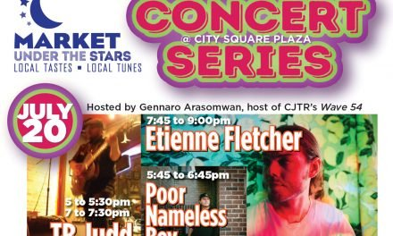 JULY 20:  CONCERT SERIES @ MARKET UNDER THE STARS