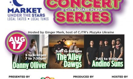 AUGUST 17:  CONCERT SERIES @ MARKET UNDER THE STARS