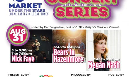 AUGUST 31:  CONCERT SERIES @ MARKET UNDER THE STARS