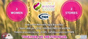 Courage, Wisdom, Success with Regina Women's Network @ DoubleTree By Hilton Hotel