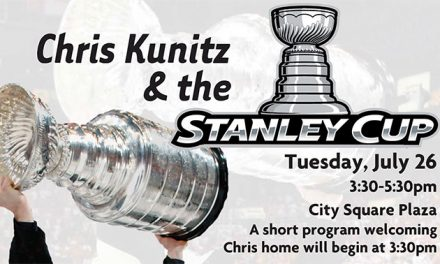 STANLEY CUP VISIT WITH CHRIS KUNITZ