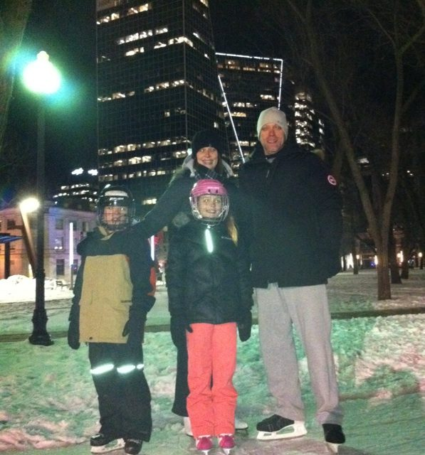 RINK STORIES: The Haidey family