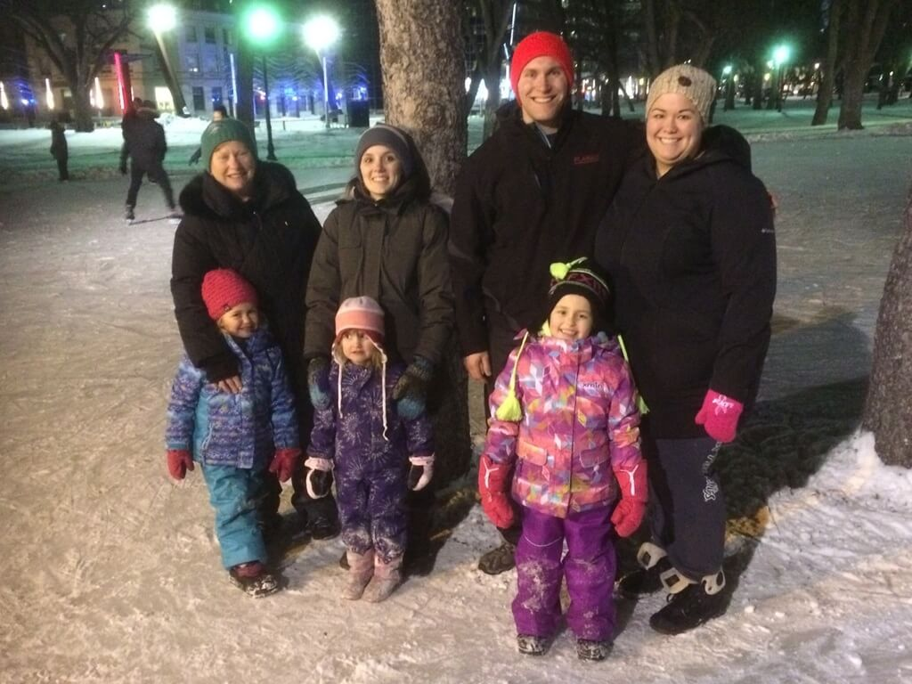 RINK STORIES: The Greaves family