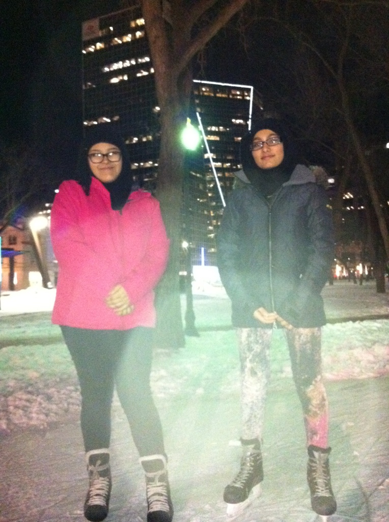 RINK STORIES: Jamilah and Ammama