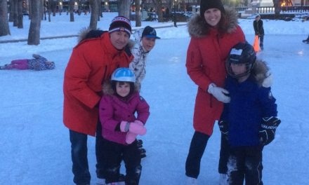 RINK STORIES: Leia, Serge & family