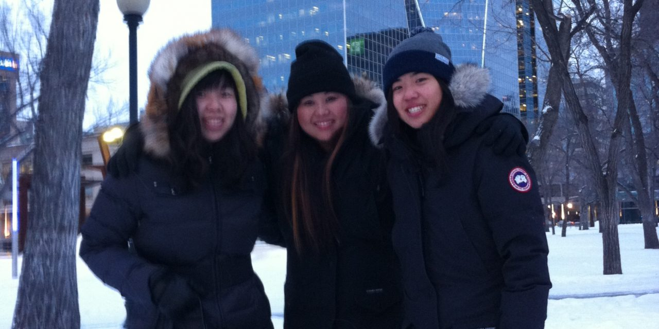 RINK STORIES: Irene, Linda & Amy