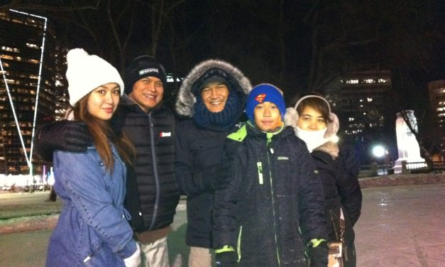RINK STORIES: Trisha & Family