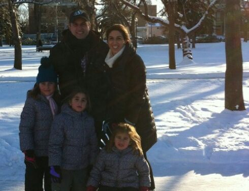 RINK STORIES: Jorge & family