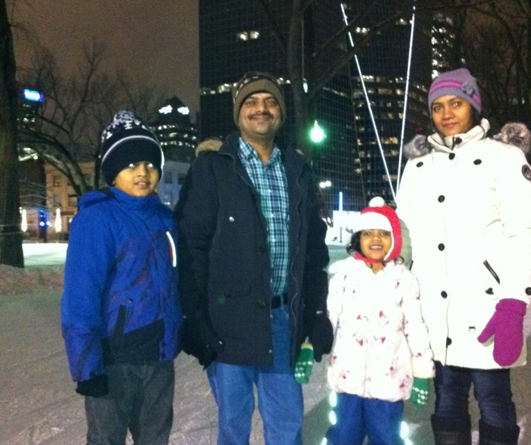 RINK STORIES: Jogdand family