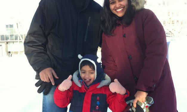 RINK STORIES: CHANDAN & FAMILY