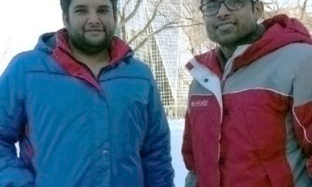 RINK STORIES: Jaspreet & Nilesh