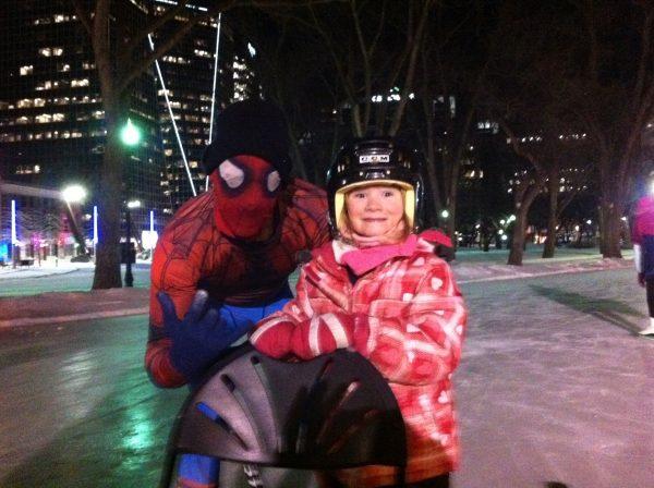 RINK STORIES: Spider-man!