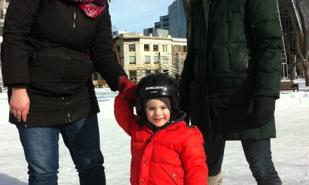 RINK STORIES: Asher & Family