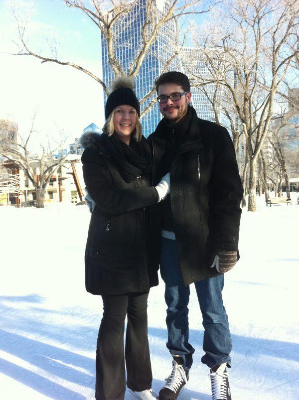RINK STORIES: JESSICA & JESSE