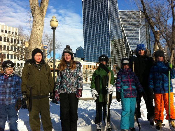 RINK STORIES: LYNDSEY & FAMILY