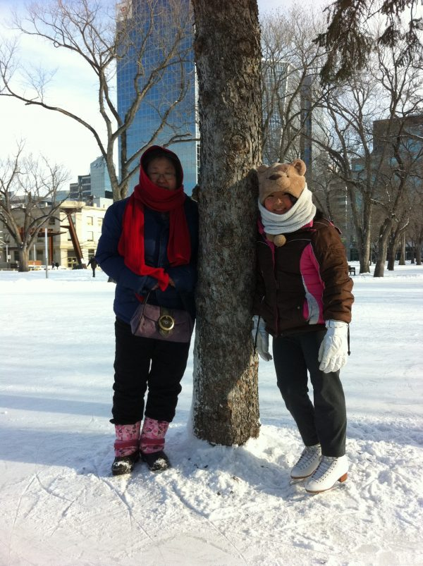 RINK STORIES: MINSOO & FAMILY