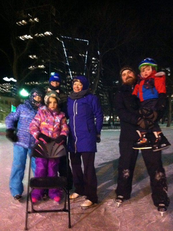 RINK STORIES: Olver Family