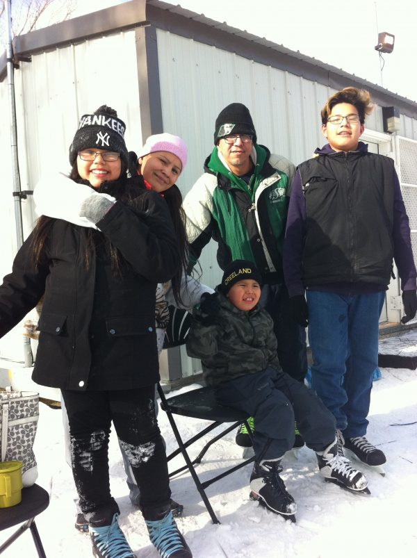 RINK STORIES: Vincent, Chantal & Family