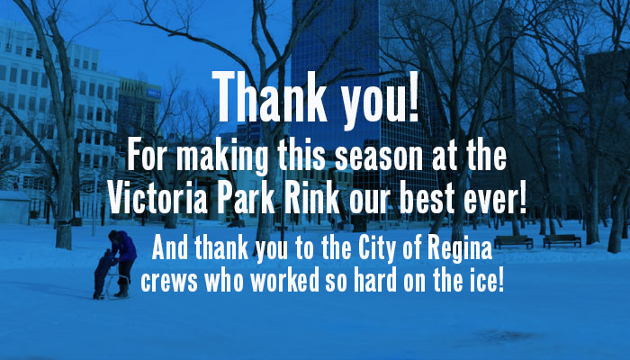 Victoria Park Rink is now closed.