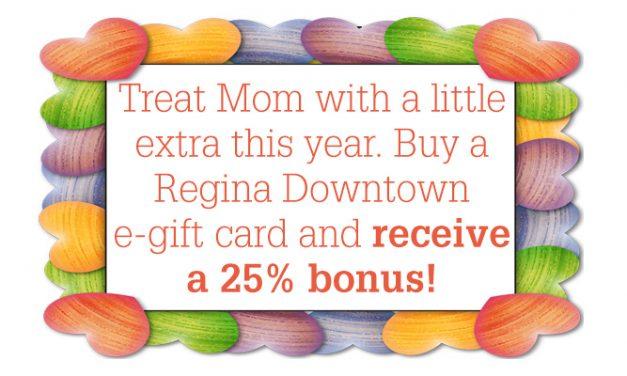 E-gift Card Mother's Day 25% bonus!