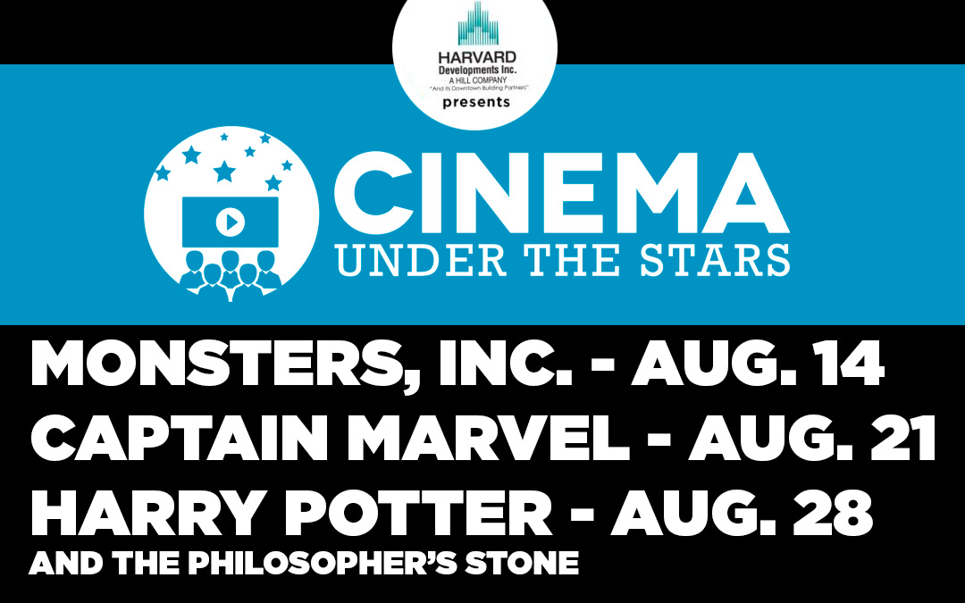 CINEMA UNDER THE STARS 2019
